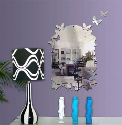 wall sticker mirrors wall mirror stickers by tonka design digsdigs