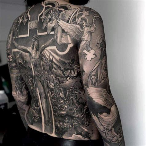 religious sleeve tattoo designs for men 75 religious sleeve tattoos for spirit designs