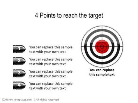 Powerpoint Target Templates Target Powerpoint Template