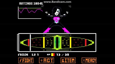 color fight undertale mettaton ex fight colored