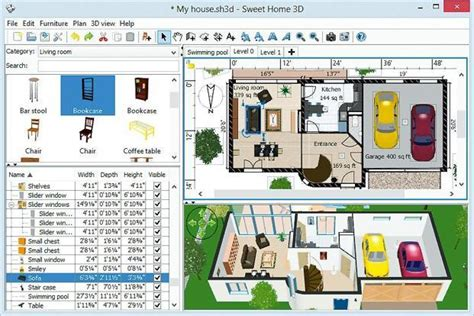 Home Design 3d Para Windows Xp by Download Central Sweet Home 3d Portable Livemint