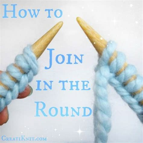 how to join knitting in the learn how to join in the with circular knitting