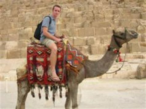 funny backpacking travel story wanna ride  camel