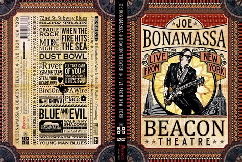 live from new york car 225 tula caratula de joe bonamassa beacon theatre live