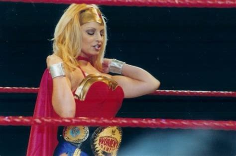 trish stratus halloween costume wwe diva halloweenhotties guysnation
