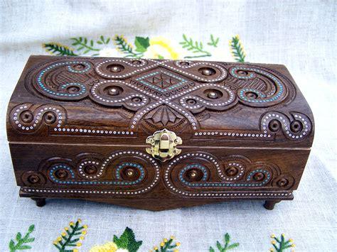 Handmade Jewelry Box - 16 unique handmade jewelry box designs for jewelry