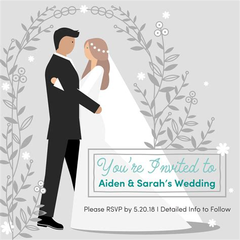 Animation Wedding by Animated Wedding Gif Invitation On Behance