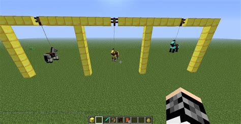 how to a in minecraft how to make a minecraft swing minecraft