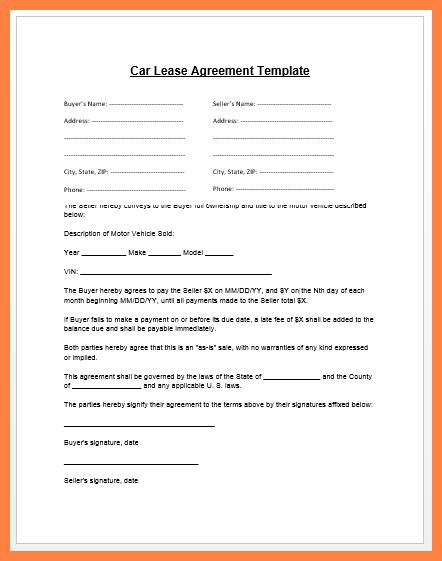 Lease With Letterhead 5 Company Property Agreement Form Company Letterhead