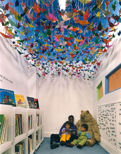 themes for book corners i did this once in my boys room but made a sea of fish