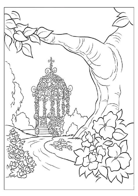 coloring pages for adults nature nature coloring pages for adults coloring pages of save