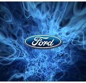 Cool Ford Logo Flame Wallpaper Download
