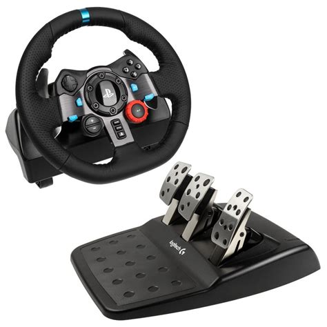 Logitech Steering Wheel Ps3 Malaysia Volant Logitech Driving G29 Pc Ps3 Ps4 Ps4