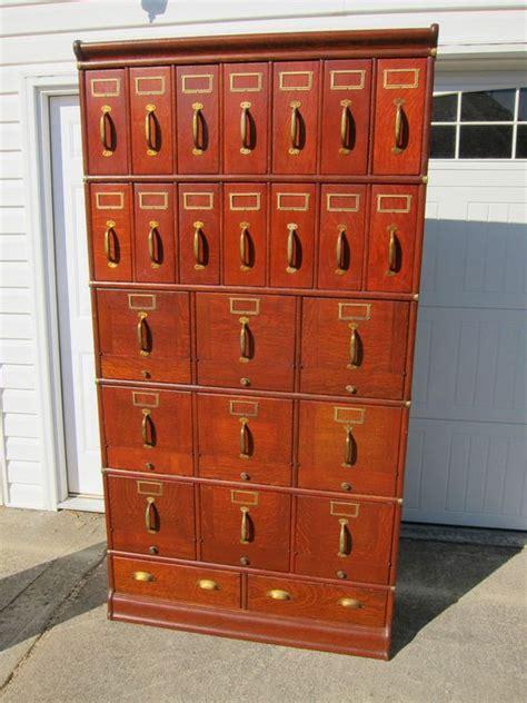 globe wernicke file cabinet for sale globe wernicke 41 quot stacking file solid oak cincinnati
