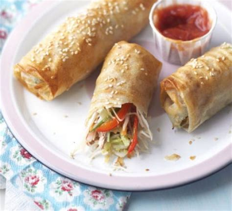 wrap your own spring rolls recipe bbc good food