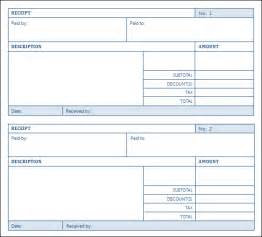Download Free Receipt Template Top 5 Layouts For Sales Receipt Templates Word Templates