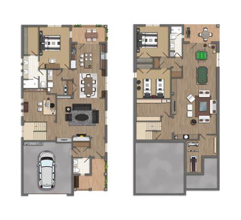 planos casas americanas photoshop planos 2d casas americanas
