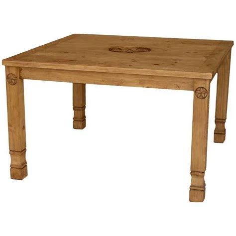 Rustic Pine Dining Table Rustic Pine Collection Allende Nine Dining Table Mes5431