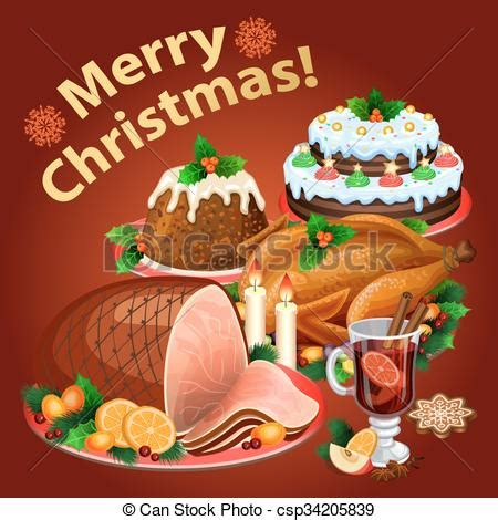 christmas dinner, traditional christmas food and desserts