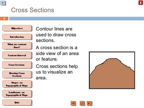 what is a cross section geography drawing a cross section geography 28 images geography