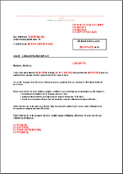 Lettre De Relance Demande De Visa Lettre De Relance Suite Ch 232 Que Impay 233 Fr