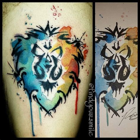 watercolor tattoo halifax watercolor tattoos world war and
