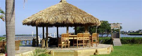 Joes Tiki Hut Outdoor Kitchens Gas Grills Awnings Tiki Huts