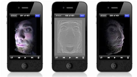 iphone 3d photo trimensional 3d scanner for iphone