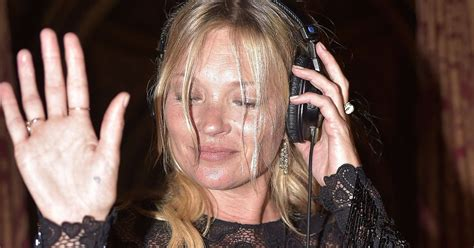 The 3am Worse For Wear Kate Moss And Osbourne Pair Up For A Out by Kate Moss Looks Worse For Wear As She At