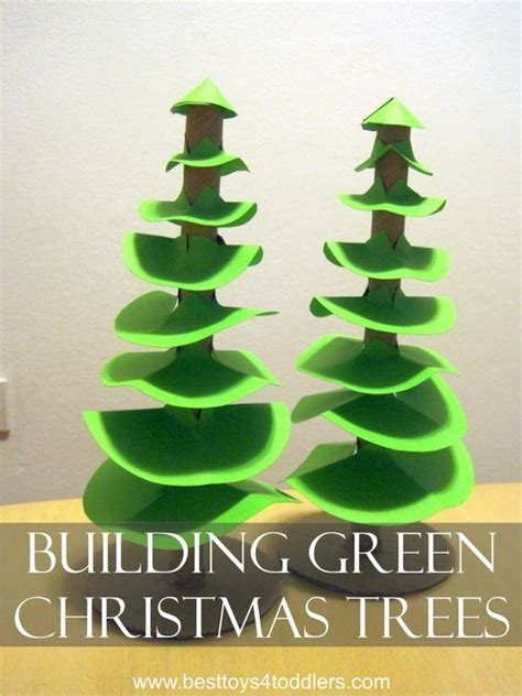 green christmas cutting practice and fine motor skills on