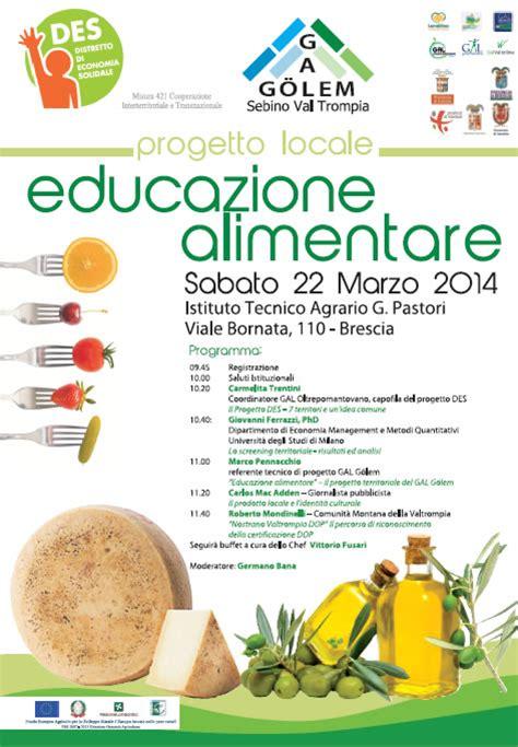 schede didattiche sull educazione alimentare convegno sull educazione alimentare a brescia