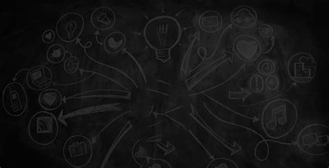 media background social media chalkboard background digital marketing