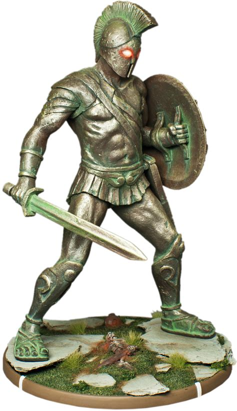 Statues Of Gods Mierce Miniatures Talos Colossus Of Bronze
