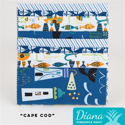 Diana Cape cape cod diana pineapple pack pineapple fabrics