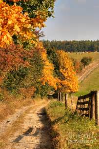 fall landscaping country road and autumn landscape autumn country and