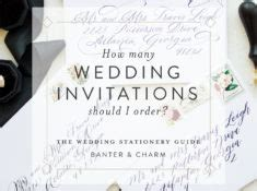 wedding stationery guide reception card wording sles banter and charm