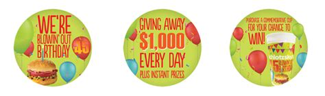 Birthday Sweepstakes - schlotzsky s blowin out 45th birthday sweepstakes