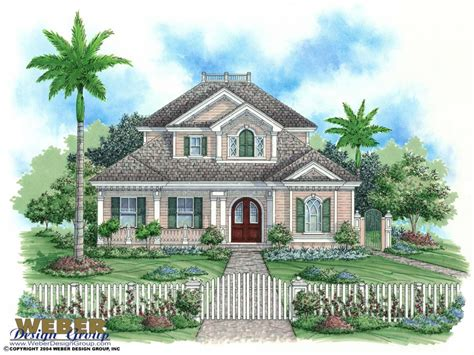 Florida House Plan by Key West Home Design Plans Key West House Plan Florida