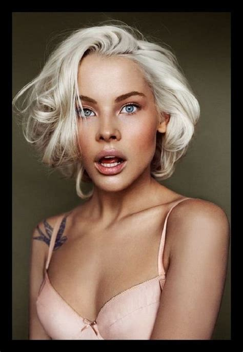 does black hair or blonde hide wrincles platinum blonde hair on dark skin google search cyborg