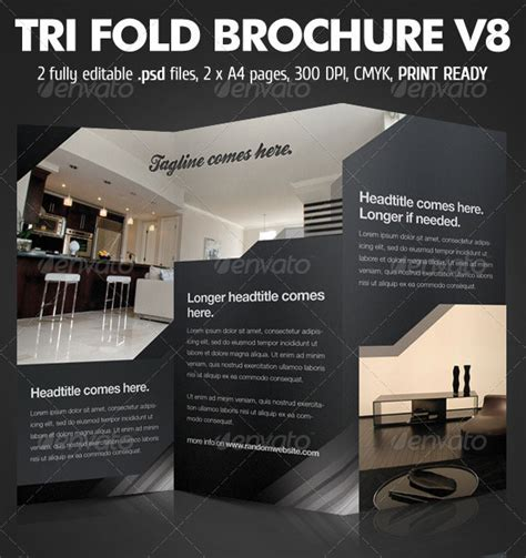 brochure photoshop template 25 best brochure design templates 56pixels part 2