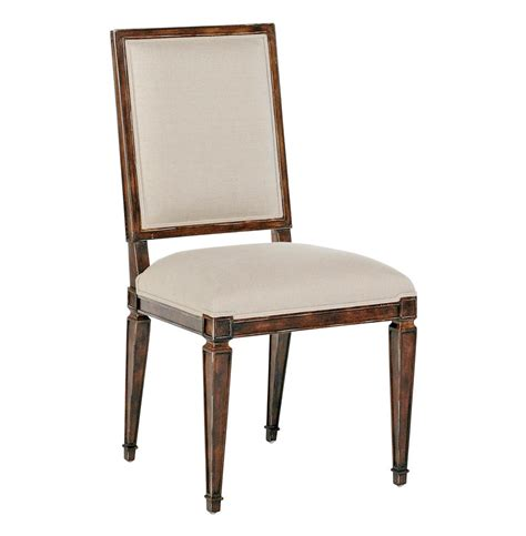 square back dining chair danielle country brown square back dining chair