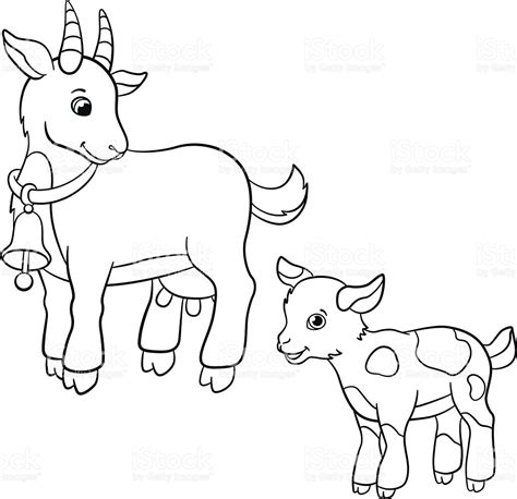 cute baby farm animals coloring page coloring pages farm animal coloring pages goat coloring page baby goat