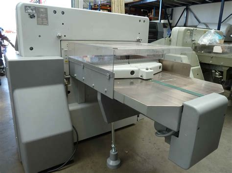 Polar Cutter by Guillotines Used Finishing Machines Used Polar 92 Ed Paper Cutter
