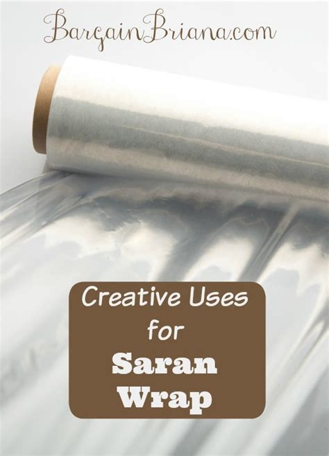 uses for plastic wrap creative uses for saran wrap bargainbriana