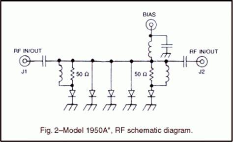 diode attenuator schematic octave band pin diode attenuator modulator kratos
