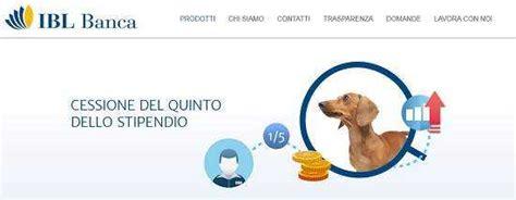Ibl Banca Cessione Quinto by Cessione Quinto Ibl Missione Prestito