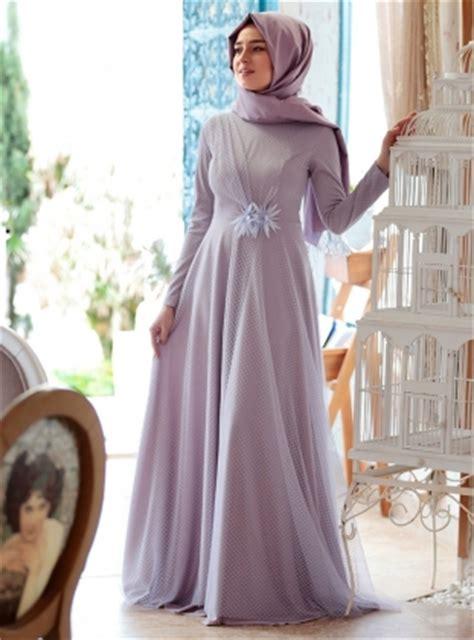 Syari Modern 17 model baju gamis pesta dan lebaran yang sedang hits 2018