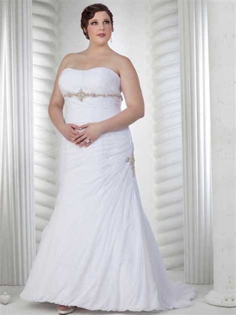 imagenes vestidos de novia tallas grandes vestido de novia strapless en tallas grandes