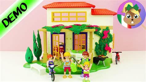 casa per le vacanze casa per le vacanze da sogno playmobil gioca con me