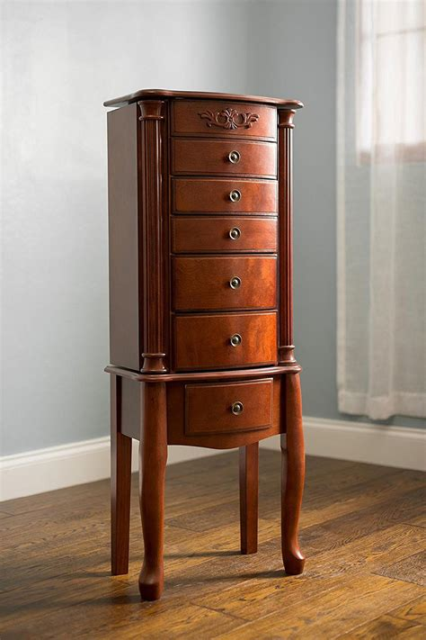jewelry armoire cherry morgan jewelry armoire cherry hives and honey
